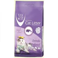 Ван Кэт аромат Лаванда наполнитель бентонитовый наполнитель для кошек 10 кг
