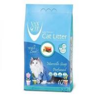 Ван Кэт аромат Марсельское мыло наполнитель бентонитовый наполнитель для кошек 10 кг