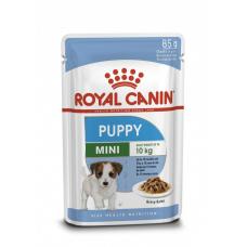Купить Royal Canin Mini Puppy влажный корм для щенков мелких пород (кусочки в соусе) Паучи упаковка 12 шт  Фото 1 недорого с доставкой по Украине в интернет-магазине Майзоомаг