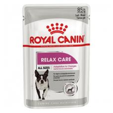 Купить Паучи  Royal Canin (Роял Канин) Relax Care Loaf Влажный корм для собак чувствительных к стрессу, 85г . Упаковка 12 шт Фото 1 недорого с доставкой по Украине в интернет-магазине Майзоомаг