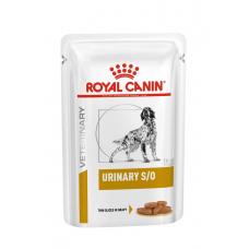 Купить Паучи. Влажный корм Royal Canine Urinary S/O Dog  в соусе 100 г . Упаковка 12 шт Фото 1 недорого с доставкой по Украине в интернет-магазине Майзоомаг