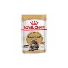Купить Паучи Royal Canin Maine Coon Adult в соусе 85 г. Упаковка 12 шт Фото 1 недорого с доставкой по Украине в интернет-магазине Майзоомаг