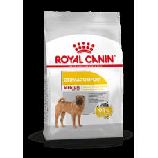 Купить Сухой корм Royal Canin (Роял Канин) 3 кг, для собак с чувствительной кожей, medium dermacomfort Фото 1 недорого с доставкой по Украине в интернет-магазине Майзоомаг