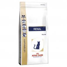 Корм Royal Canin (Роял Канин)  2 кг, диета для кошек при хронической почечной недостаточности, Renal cat RF23