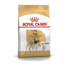 Купить Сухой корм Royal Canin Pug Adult (Роял Канин Мопс Эдалт) для взрослых собак 3 кг Фото 1 недорого с доставкой по Украине в интернет-магазине Майзоомаг