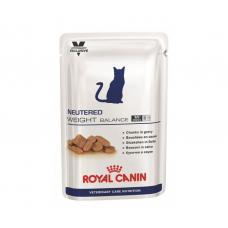 Royal Canin Neutered Weight Balance 100 г ВЛАЖНАЯ ДИЕТА ДЛЯ КОТОВ И КОШЕК С ИЗБЫТОЧНЫМ ВЕСОМ ДО 7 ЛЕТ 12 шт