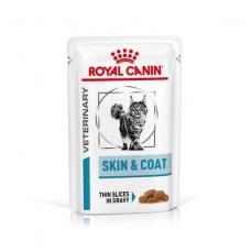 Купить Паучи . Влажный корм Royal Canin Skin&Coat Cat соус 85г . Упаковка 12 шт Фото 1 недорого с доставкой по Украине в интернет-магазине Майзоомаг