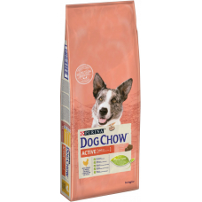 Dog Chow Active (Дог Чау, сухой корм для активных собак), 14 кг