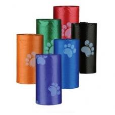 TRIXIE 22838 Мусорные пакеты 4х20 шт  разноцветные