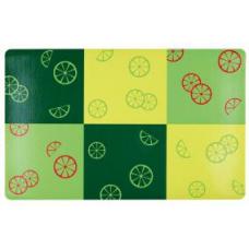 "TRIXIE 24478 Коврик под миску ""Fresh Fruits"" 44х28 см зеленый"