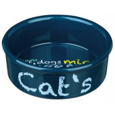 TRIXIE 24493 Миска для котов керамическая 0.3 л, 12 см
