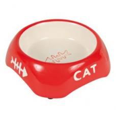 TRIXIE 24498 Миска для котов керамическая 0,2 л   13 см