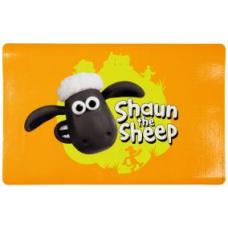 "TRIXIE 24570 Коврик под миску  ""Shaun the Sheep""  44х28  см оранжевый"
