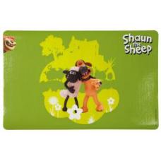 "TRIXIE 24573 Коврик под миску ""Shaun the Sheep"" 44х28 см зеленый"