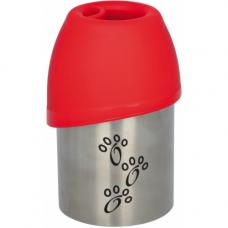 Купить TRIXIE 24605  Бутылка дорожная с миской  300 мл Фото 1 недорого с доставкой по Украине в интернет-магазине Майзоомаг
