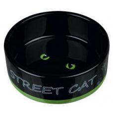 "TRIXIE 24659  Миска"" Street Cat""  0.3 л  /ø 12см"