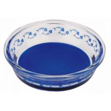 TRIXIE 24800 Миска для кота 0.3 л o14 см синяя