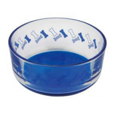 Купить TRIXIE 24801 Миска для собак 0.4 л  o12 см синяя Фото 1 недорого с доставкой по Украине в интернет-магазине Майзоомаг