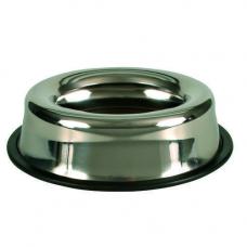 TRIXIE 2499 Миска металлическая на резинке 0,45 л 15 см
