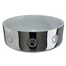 Купить TRIXIE 25083 Миска для собак керамическая 0.3 л 12 см  серебро Фото 1 недорого с доставкой по Украине в интернет-магазине Майзоомаг