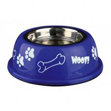 Купить Trixie 25254 Миска для собак металлическая на резине с пластиковым покрытием яркая 1,6 л 21 см Фото 1 недорого с доставкой по Украине в интернет-магазине Майзоомаг