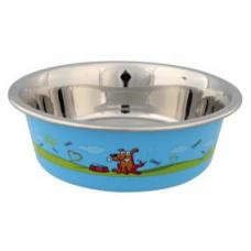 Купить TRIXIE 25265 Миска для собак металлическая 0.4 л o 14 см  Фото 1 недорого с доставкой по Украине в интернет-магазине Майзоомаг