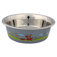 Купить TRIXIE 25266 Миска для собак металлическая 0.875 л o 17 см Фото 1 недорого с доставкой по Украине в интернет-магазине Майзоомаг