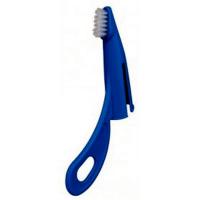 TRIXIE 25440 Зубная щетка-напалечник с ручкой 14 см