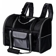 "TRIXIE 28879 Рюкзак-переноска ""Marvin"" 42х29х21 см чёрный с серым"