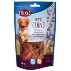 """Купить TRIXIE 31587 Лакомство для собак """"Duck Coins""""  утиная грудка 80 г Фото 1 недорого с доставкой по Украине в интернет-магазине Майзоомаг"""