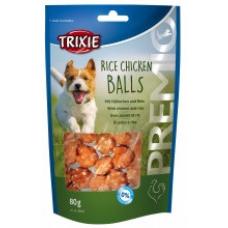 """Купить TRIXIE 31701 Лакомство для собак """"Rice Chicken Balls"""" курица с рисом 80 г  Фото 1 недорого с доставкой по Украине в интернет-магазине Майзоомаг"""