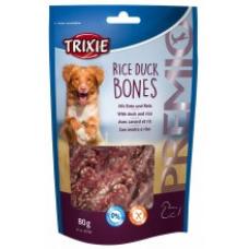 """Купить TRIXIE 31742 Косточки для собак """"Rice Duck Bones"""" утка с рисом 80 г Фото 1 недорого с доставкой по Украине в интернет-магазине Майзоомаг"""