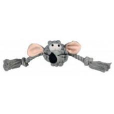 Купить TRIXIE 32640 Игрушка голова мыши с канатами  34 см Фото 1 недорого с доставкой по Украине в интернет-магазине Майзоомаг