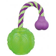 Купить TRIXIE 33657 Мяч на канате  5.5 см  23 см Фото 1 недорого с доставкой по Украине в интернет-магазине Майзоомаг
