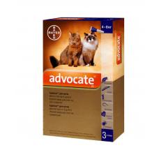 От блох и клещей для котов АДВОКАТ 4-8 кг Байер цена за 1 шт