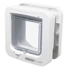 "TRIXIE 38530  Дверца-автомат  для   котов  ""SureFlap""  21х21  см  белая"