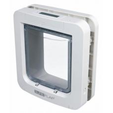 """TRIXIE 38550   Дверца-автомат для котов и мелких собак  """"SureFlap""""  26.2х28.1  см  белая"""