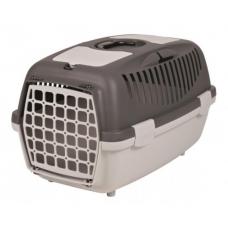 """TRIXIE 39824 Переноска для собак и котов """"Capri 2"""" до 8 кг 37*34*55 см темно-серая"""