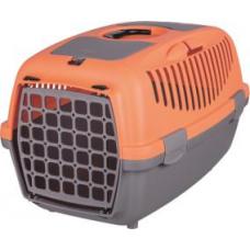 """TRIXIE 39826 Переноска для собак и котов """"Capri 2"""" до 8 кг 37*34*55 см коралловая с серым"""