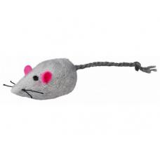TRIXIE 4085  Плюшевые мыши серые и белые  160 шт