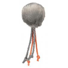 TRIXIE 4126  Мяч  плюшевый с пером 4 см  100 шт