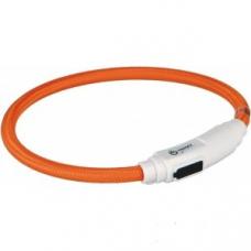 Купить TRIXIE 41941 Светящийся ошейник для кота USB 35 см 7 мм оранжевый Фото 1 недорого с доставкой по Украине в интернет-магазине Майзоомаг
