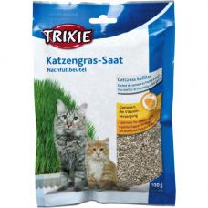 TRIXIE 4233   Трава для кошек в пакете 100 г