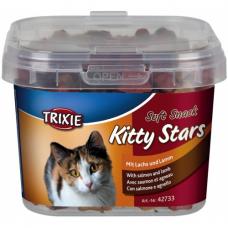 """TRIXIE 42733  Лакомство для котов """"Kitty Stars"""" лосось и ягнёнок 140 г"""