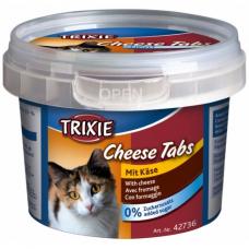 "TRIXIE 42736  Лакомство для  котов  ""Cheese Tabs"" сыр 75 г"