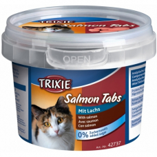"""TRIXIE 42737  Лакомство для  котов  """"Salmon Tabs""""  лосось 75 г"""