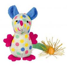 TRIXIE 45284  Мышь цветная  9  см