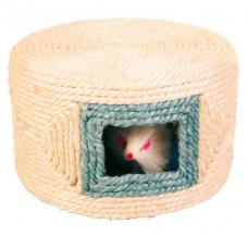 TRIXIE 4537  Мышка в веревочном домике  16х10  см