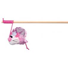 """TRIXIE 45602  Удочка  """"Cat Princess"""" с мышкой-невестой  30  см"""