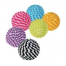 Купить TRIXIE 4570  Мяч в нейлоне разноцветный 4,5  см  54  шт  Фото 1 недорого с доставкой по Украине в интернет-магазине Майзоомаг